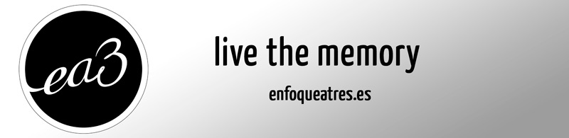 Enfoque a tres - Live the memory
