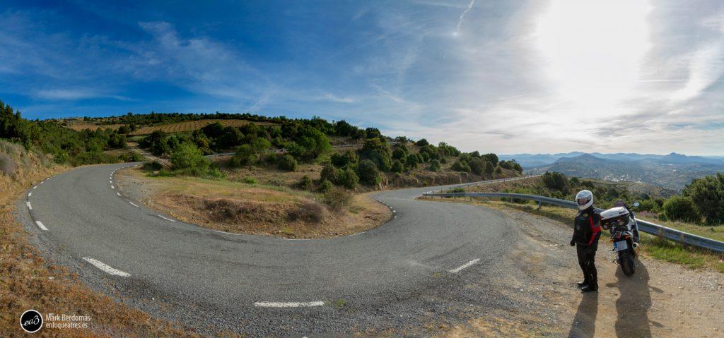 Panorama de la Curvona